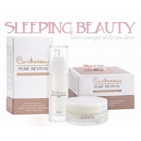 Sleeping Beauty Set - Night cream + Rejuvenating Serum