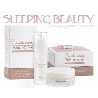 Sleeping Beauty Set - Night cream + Rejuvenating Serum
